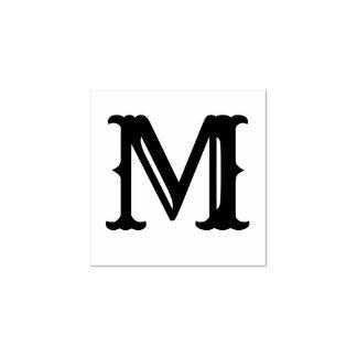 Lettre simple d'initiale de monogramme