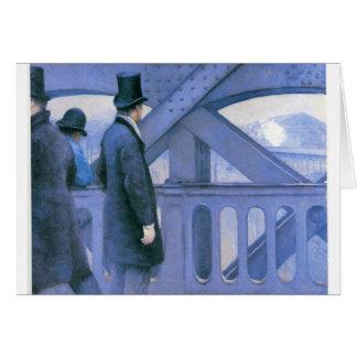 l'Europe de Le Pont de par Gustave Caillebotte Carte