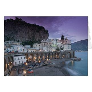 L'Europe, Italie, Campanie (côte d'Amalfi) Atrani Carte
