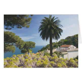 L'Europe, Italie, Campanie, (côte d'Amalfi), Carte