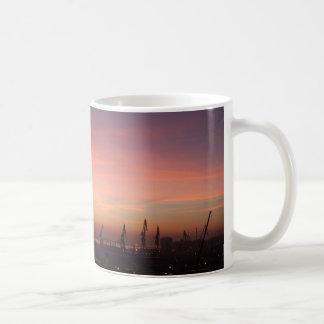 Lever de soleil au-dessus de Cadix Mug