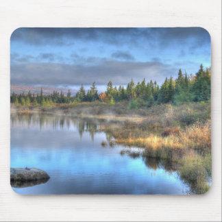Lever de soleil d'automne au lac Maine Moosehead Tapis De Souris