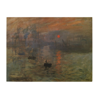 Lever de soleil d'impression par Claude Monet, art