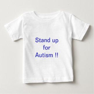 levez-vous pour l'autisme ! ! t-shirt pour bébé