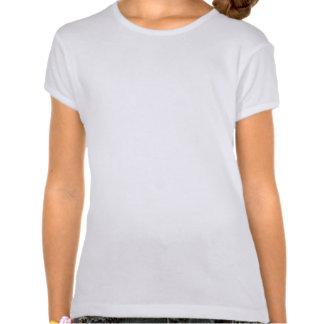 Lévrier Brindle foncé IAAM T-shirt