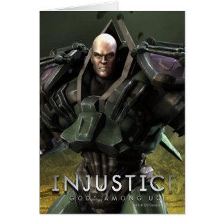Lex Luthor Carte