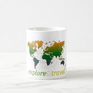 l'explorez et voyagez tasses à café