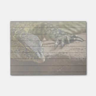 Lézard de moniteur du Nil de reptile Post-it®