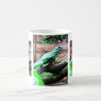 Lézards verts mug