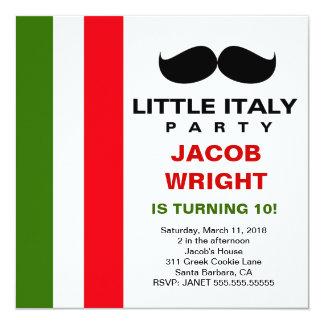LGC peu de partie de l'Italie Carton D'invitation 13,33 Cm