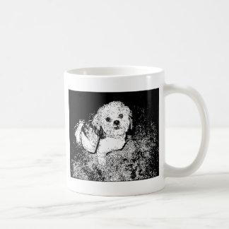 Lhaso Apso dans à l'encre Mug