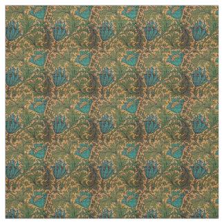 L'héritage fleurit des textiles tissu