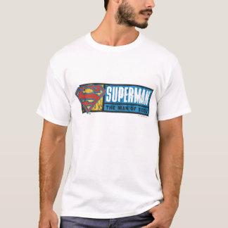 L'homme de l'acier t-shirt