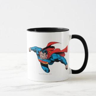 L'homme du style comique en acier mug