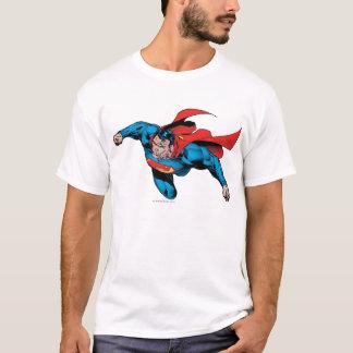 L'homme du style comique en acier t-shirt