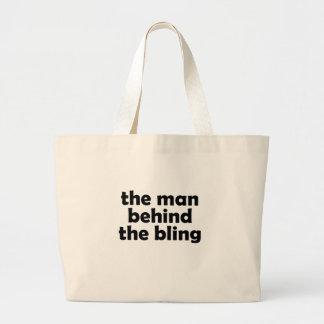 l'homme grand sac