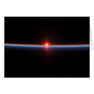 L'horizon de la terre carte