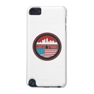 L'horizon   Etats-Unis de New York diminuent Coque iPod Touch 5G
