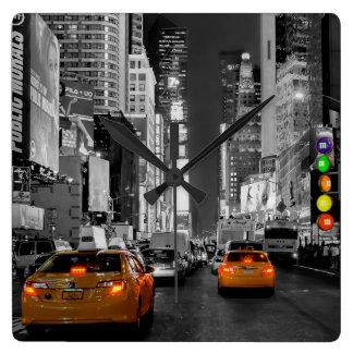 L'horloge de New York Times Square horloge