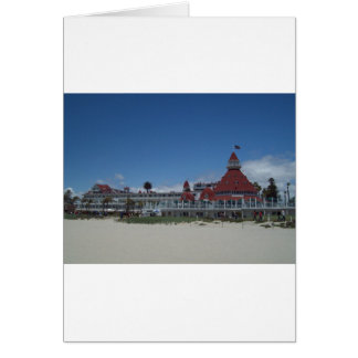 L'hôtel de Del Coronado Carte
