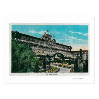 L'hôtel de Huntington et le GroundsPasadena, CA Carte Postale