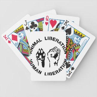 Libération animale - libération humaine jeu de poker