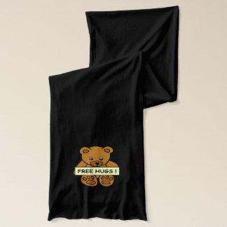 Libérez les écharpes de nounours d'étreintes