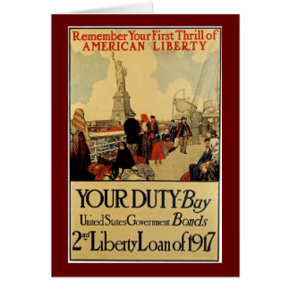 Liberté américaine carte