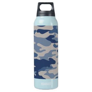 Liberté Bottleworks de bleus marine de Camo Bouteilles Isotherme