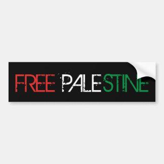 Liberté de la Palestine Autocollant De Voiture