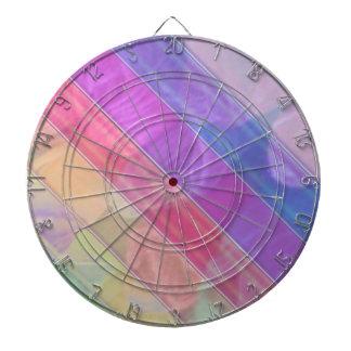 Lichte de stijlstrepen van de Omslag van de Kleur Dartbord