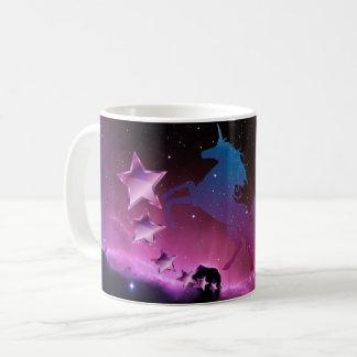 Licorne avec des étoiles mug