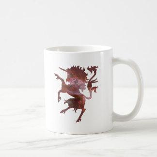 Licorne cosmique mug blanc