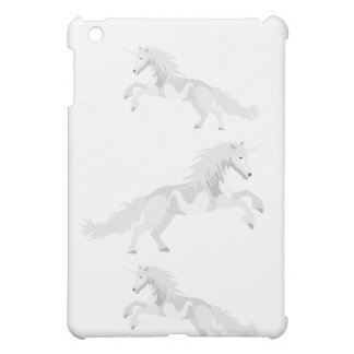 Licorne de blanc d'illustration coque iPad mini