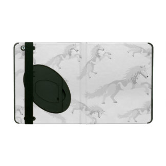 Licorne de blanc d'illustration protection iPad