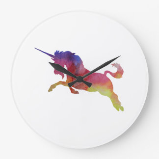 Licorne Grande Horloge Ronde