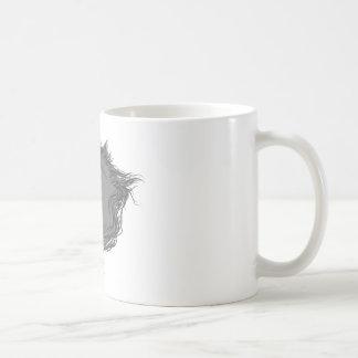 Licorne grise mug
