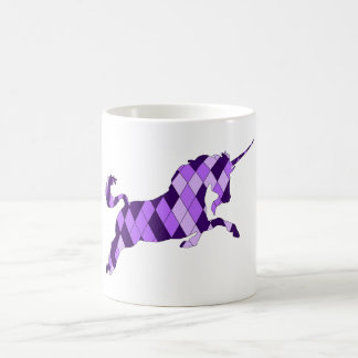 licorne mug blanc