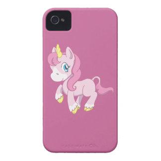 Licorne rose mignonne coques iPhone 4