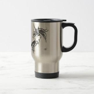 Licorne tribale mug de voyage