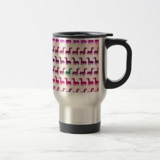 Licorne verte mug de voyage