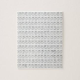 Licornes cursives puzzle