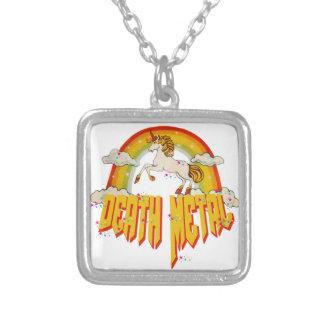 Licornes de métal de la mort collier