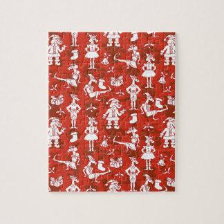 Licornes de Noël Puzzle