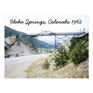 L'Idaho jaillit la carte postale 1962 du Colorado