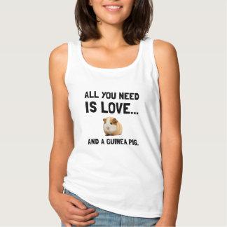 Liefde en een Proefkonijn Tanktop
