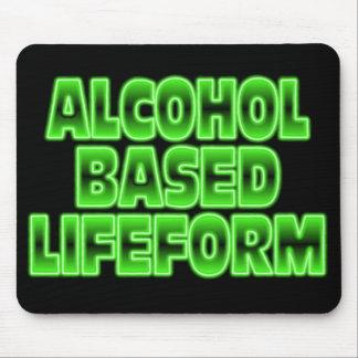 Lifeform. à base d'alcool tapis de souris