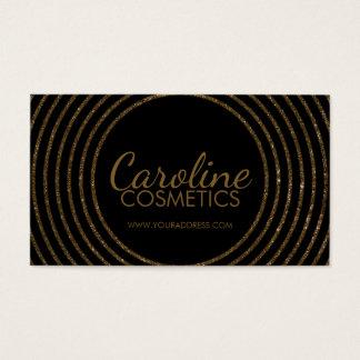 Ligne d'or carte noire de luxe de cosmétiques de