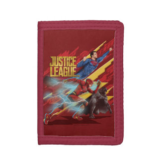 Ligue de justice   Superman, éclair, et insigne de