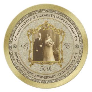 Lijst van de Foto van het Jubileum van de gouden Bord
